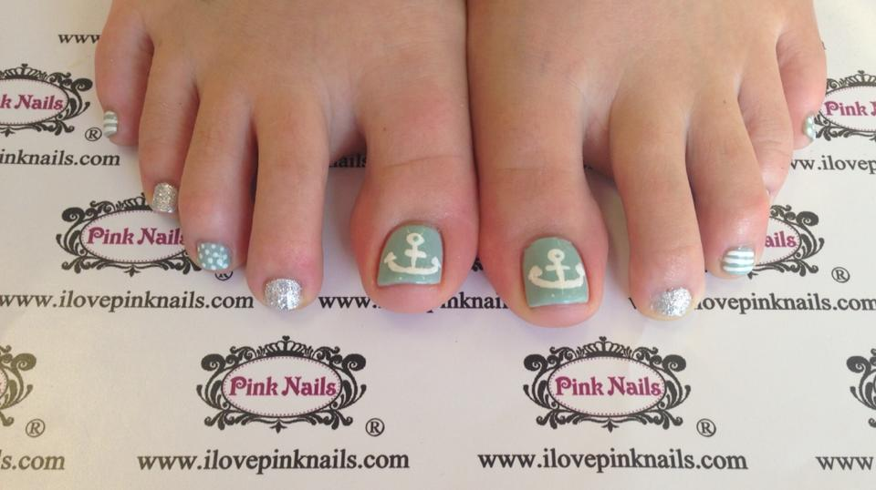 Mint Toe Nail Designs : Gallery for gt anchor toe nail designs - Mint Toe Nail Designs: Ing Ittt.